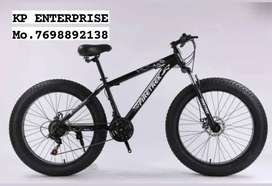 FIRETREK FAT BIKE 26T WITH 21 GEARS :  WITH FREE ACCESSORIES