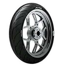 Tyre Apollo alpha h1 rear and front size 150/60 r17 and 110/70 r17