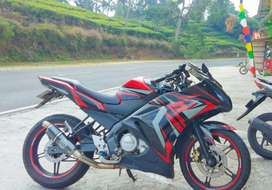 Vixion fairing cutting sticker