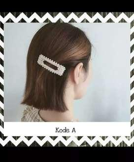 SALE!!! Hairclip/jepitan rambut mutiara korea