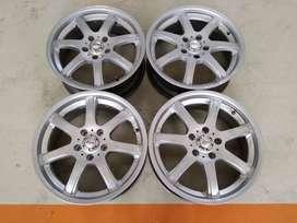 Velg seken K-Speed Ring 17x7 H:5x114,3 ET:40 Silver
