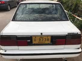 Toyota corolla (Japanese) Recondition ow-some Condition