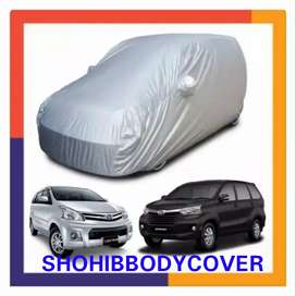 bodycover mantel kemul sarung selimut mobil polos silver