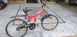 Brand new Red bicycle Fusion brand