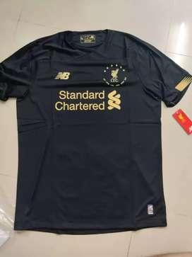 Jersey Liverpool GK 2019 (edisi yg ada bintang 6nya)