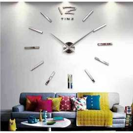 AyooDropship - Jam Dinding Besar DIY Giant Wall Clock Quartz Creative