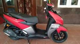 TVS Ntorq 125 cc glossy red