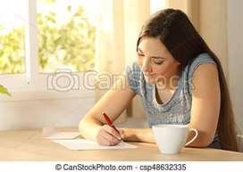 Paper writing part time job
