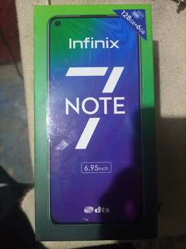 I am selling my phone infinix note 7
