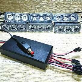 Lampu sorot rtd Strobo modul 2 4 6 channel