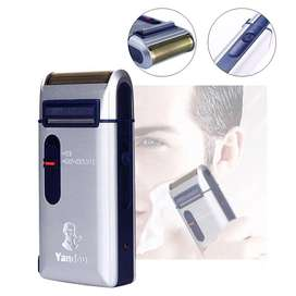 Portable Travel Reciprocating Shaver Electric Men Rechargeable Razor