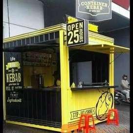 Booth container untuk kebutuhan usaha anda