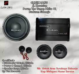 • Paket Audio Mobil 2way Full altitude