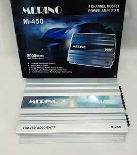 Power 4ch Merino M450