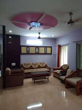 3 BHK  flat fully furnished main vasna rd