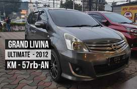 Nissan Grand Livina Ultimate 2012 - Matic - Service Record