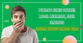 PELUANG BISNIS ONLINE!! Modal Minimalis, Hasil Fantastis
