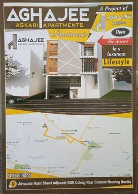 Agha Jee Askari Apartments Chaman Housing Quetta