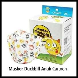 Masker Duckbill face mask for kids
