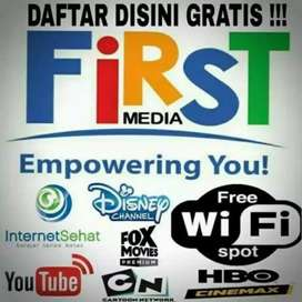 FIRST MEDIA JASA PEMASANGAN WIFI GRATIS
