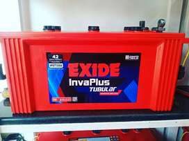 Battery and inverter branded new set