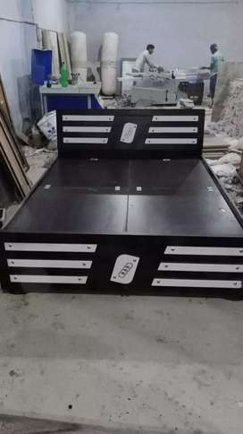 6×5 storage bed { factory outlet }