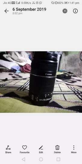 Canon Original STM Lenses 18-55 & 55-250