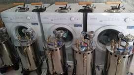 Setrika Uap Laundry Konveksi,Mesin Pengering,Paket Laundry,Servis