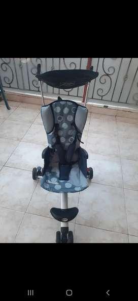 Stroller Cocolatte Isport Kaki Tiga Roda Tiga