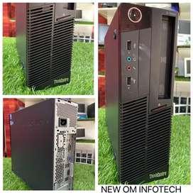 i3 PC / LENOVO BRAND / 4GB RAM / 500GB HDD / WARRANTY ALSO / CALL NOW