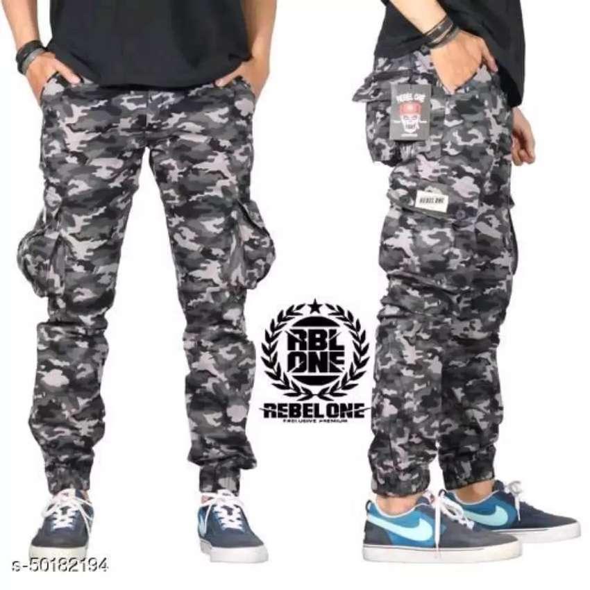 Celana Jogger panjang pria 0