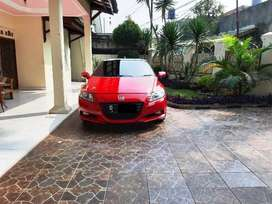 Honda CRZ 1.5 Turbo Hybrid CBU Th 2013 Km28rb Merah Istimewa