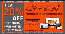 eCommerce Web Developers in Lahore |  Mobile APP Developers