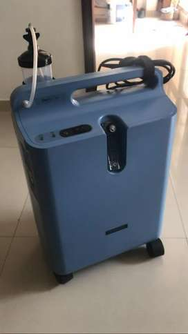 Philips oxygen concentrator cylinder machine rent hire