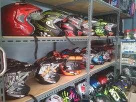 Promo helm murah baru harga 185rb Double visor /2 kaca