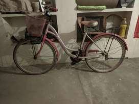 it's in good condition bicycle and I want to sell it.