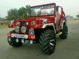 Paink jeeps modification