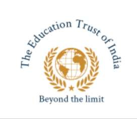 Required web designer for THE EDUCATION TRUST OF INDIA