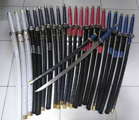 Pedang katana samurai dll.