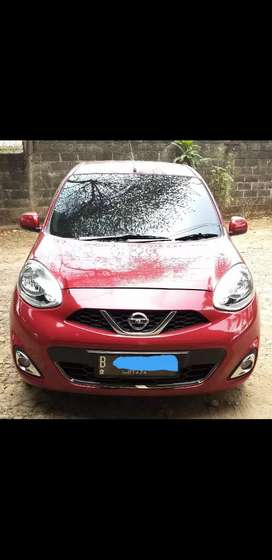 Nissan March 1.2 XS Matik 2013 Pemakaian 2014 New Model KM Rendah