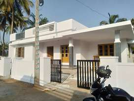 AN ELEGANT NEW 2BED ROOM 1300SQ FT 5.45CENTS HOUSE IN KOLAZHY,TSR