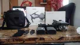 Professional Drone DJI Mavic Pro Combo Lengkap Dus, dll.