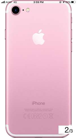 I phone 7 32gb rose gold