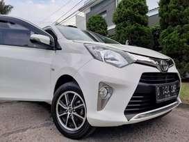 Toyota calya G manual putih 2017/2018 istimewa