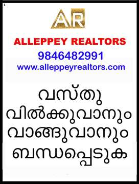 Land/plot at Alleppey to Thuravoor