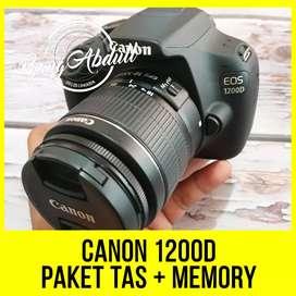 Canon 1200D Paket Tinggal Pakai