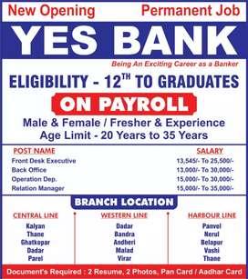 ALL MUMBAI  BARCH YES BANK
