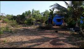 1 acre and more plain land with new house for sale at 55 lakh