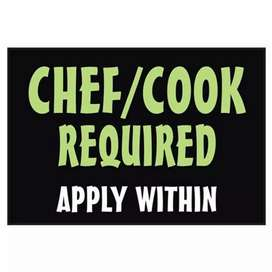 COOK Required urgently
