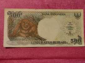Uang kertas Rp. 500 thn 1992
